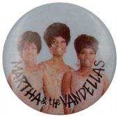 Martha & the Vandellas - 'Group' Button Badge